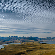 View from summit of Mt John, Tekapo