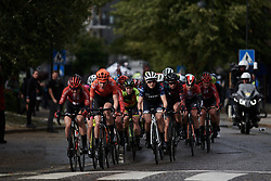 Ruth Winder (USA) in the lead group during Ladies Tour of Norway 2019 - Stage 1, a 128 km road race from Åsgårdstrand to Horten, Norway on August 22, 2019. Photo by Sean Robinson/velofocus.com