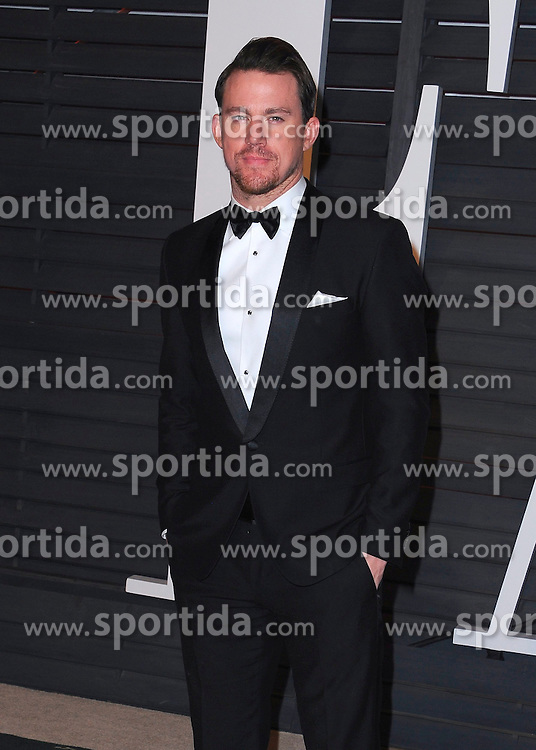 22.02.2015, Wallis Anneberg Center for the Performing Arts, Beverly Hills, USA, Vanity Fair Oscar Party 2015, Roter Teppich, im Bild Channing Tatum // during the red Carpet of 2015 Vanity Fair Oscar Party at the Wallis Anneberg Center for the Performing Arts in Beverly Hills, United States on 2015/02/22. EXPA Pictures &copy; 2015, PhotoCredit: EXPA/ Newspix/ PGSK<br /> <br /> *****ATTENTION - for AUT, SLO, CRO, SRB, BIH, MAZ, TUR, SUI, SWE only*****