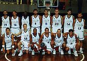 Torneo Bormio Agosto 2000<br /> tonolli, damiao, galanda, maggioli, camata, chiacig, mian, abbio, sambugaro, myers, scarone, meneghin, basile