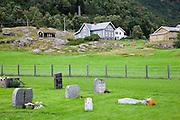 Borgund cemetery<br /> <br /> Cementerio de Borgund