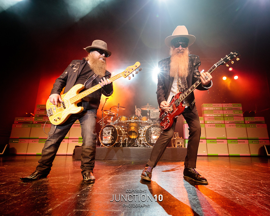ZZ Top at the O2 Academy, Birmingham, United Kingdom<br /> Picture Date: 23 June, 2016
