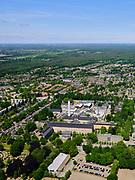 Nederland, Utrecht, Gemeente De Bilt; 27-05-2020; Bilthoven: het Rijksinstituut voor Volksgezondheid en Milieu, het RIVM. Het instituut doet onderzoek naar onder andere het coronavirus (COVID-19), vaccinatie, bevolkingsonderzoek baarmoederhalskanker, luchtkwaliteit etc.<br /> National Institute for Public Health and the Environment.<br /> luchtfoto (toeslag op standard tarieven); <br /> aerial photo (additional fee required)<br /> copyright © 2020 foto/photo Siebe Swart