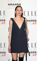 Rosie Lowe, ELLE Style Awards 2016, Millbank London UK, 23 February 2016, Photo by Richard Goldschmidt