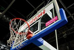 Basket during practice session of basketball club Stelmet BC Zielona Gora (POL), on January 21, 2016 in CRS Hala Zielona Góra, Zielona Gora, Poland. Photo by Vid Ponikvar / Sportida