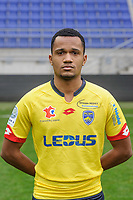 Nicolas Senzemba of Sochaux during the FC Sochaux photocall for the season 2017/2018 in Sochaux on September 20th 2017<br /> Photo : Philippe Le Brech / Icon Sport