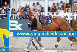 Stoker Emma, GBR, Orphea HQ<br /> FEI WBFSH Jumping World Breeding Championship for young horses Zangersheide Lanaken 2019<br /> © Hippo Foto - Dirk Caremans