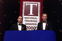 Harrison and Cowley awards, November 13, 2000..Photo by Andrew Parsons/i-Images.