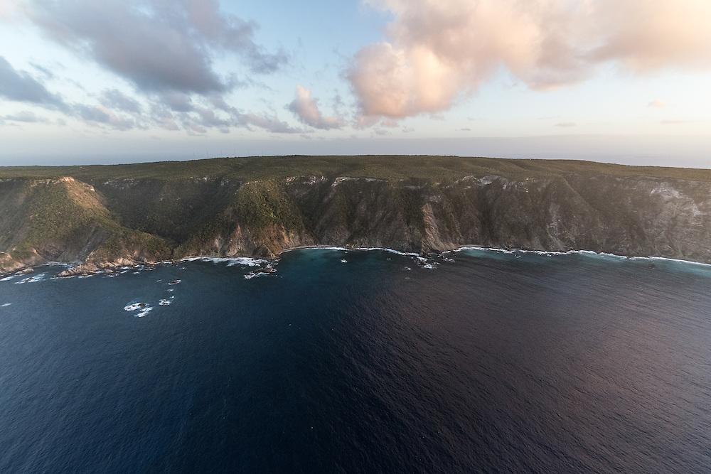 l'ile de la Désirade dans l'archipel de Guadeloupe.