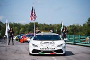 August 25-27, 2017: Lamborghini Super Trofeo at Virginia International Raceway. Lamborghini Safety Car