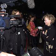 Opening Utrechts Filmfestival, premiere de Grot, Renee Soutendijk praat met de pers
