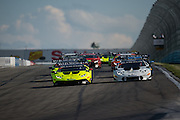 June 25 - 27, 2015: Lamborghini Super Trofeo Round 3-4, Watkins Glen NY. Start of round 3 at Watkins Glen