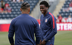 May 28, 2018 - Chester, PA, USA - Chester, PA - Monday May 28, 2018: Matthew Olosunde during an international friendly match between the men's national teams of the United States (USA) and Bolivia (BOL) at Talen Energy Stadium. (Credit Image: © John Dorton/ISIPhotos via ZUMA Wire)