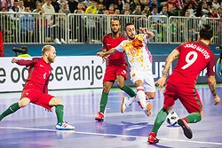 Joselito of Spain during futsal match between Spain and Portugal in Final match of UEFA Futsal EURO 2018, on February 10, 2018 in Arena Stozice, Ljubljana, Slovenia. Photo by Ziga Zupan / Sportida
