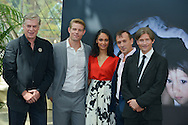 """Cast """"Texas Rising"""" pose at the photocall during the 55th Festival TV in Monte-Carlo on June 15, 2015 in Monte-Carlo, Monaco."""