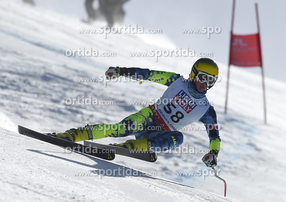 05.02.2015, Birds of Prey Course, Beaver Creek, USA, FIS Weltmeisterschaften Ski Alpin, Vail Beaver Creek 2015, Herren, SuperG, im Bild Eugenio Claro (CHI) // Eugenio Claro of Chile in action during the men's Super-G of FIS Ski World Championships 2015 at the Birds of Prey Course in Beaver Creek, United States on 2015/02/05. EXPA Pictures © 2015, PhotoCredit: EXPA/ Jonas Ericson