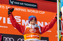 15.03.2018, Granasen, Trondheim, NOR, FIS Weltcup Ski Sprung, Raw Air, Trondheim, im Bild Sieger Kamil Stoch (POL) // Winner Kamil Stoch of Poland during the 3rd Stage of the Raw Air Series of FIS Ski Jumping World Cup at the Granasen in Trondheim, Norway on 2018/03/15. EXPA Pictures © 2018, PhotoCredit: EXPA/ JFK