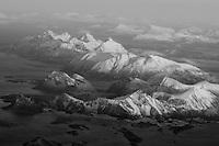 Lofoten from above, Norway,