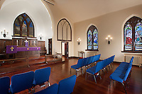 Saint Michaels Lutheran Church interior image by Jeffrey Sauers of Commercial Photographics, Architectural Photo Artistry in Washington DC, Virginia to Florida and PA to New England