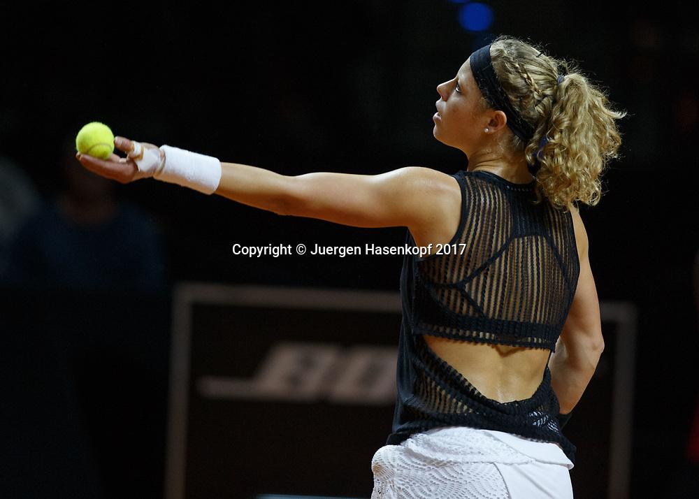 LAURA SIEGEMUND (GER)<br /> <br /> Tennis - Porsche  Tennis Grand Prix 2017 -  WTA -  Porsche-Arena - Stuttgart -  - Germany  - 25 April 2017.