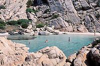 """Cala Napoletana - Caprera island - Maddalena archipelago - International Marin park of """"Bouches de Bonifacio"""" - Sardinia - Italy"""