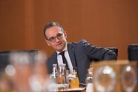 DEU, Deutschland, Germany, Berlin, 09.01.2019: Bundesaussenminister Heiko Maas (SPD) vor Beginn der 36. Kabinettsitzung im Bundeskanzleramt.