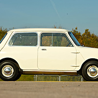 1959 Mini Number One  (621 AOK), Gaydon, Warwickshire