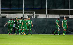 NK Olimpija celebrates during a football game between NK Olimpija Ljubljana and NK Maribor in Final Round (18/19)  of Pokal Slovenije 2018/19, on 30th of May, 2014 in Arena Z'dezele, Ljubljana, Slovenia. Photo by Matic Ritonja / Sportida