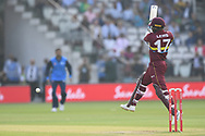 Evin Lewis of West Indies playing a cut shot during the International Twenty/20 match at Lord's, London<br /> Picture by Simon Dael/Focus Images Ltd 07866 555979<br /> 31/05/2018