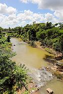 River in San Diego de los Banos, Pinar del Rio, Cuba.