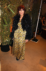 JANET STREET-PORTER at a party to celebrate 100 years of Chinese Cinema hosted by Shangri-la Hotels and Tartan Films at Asprey, New Bond Street, London on 25th April 2006.<br />