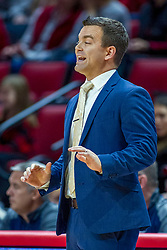 NORMAL, IL - November 29: Matt Brock during a college basketball game between the ISU Redbirds and the Prairie Stars of University of Illinois Springfield (UIS) on November 29 2019 at Redbird Arena in Normal, IL. (Photo by Alan Look)