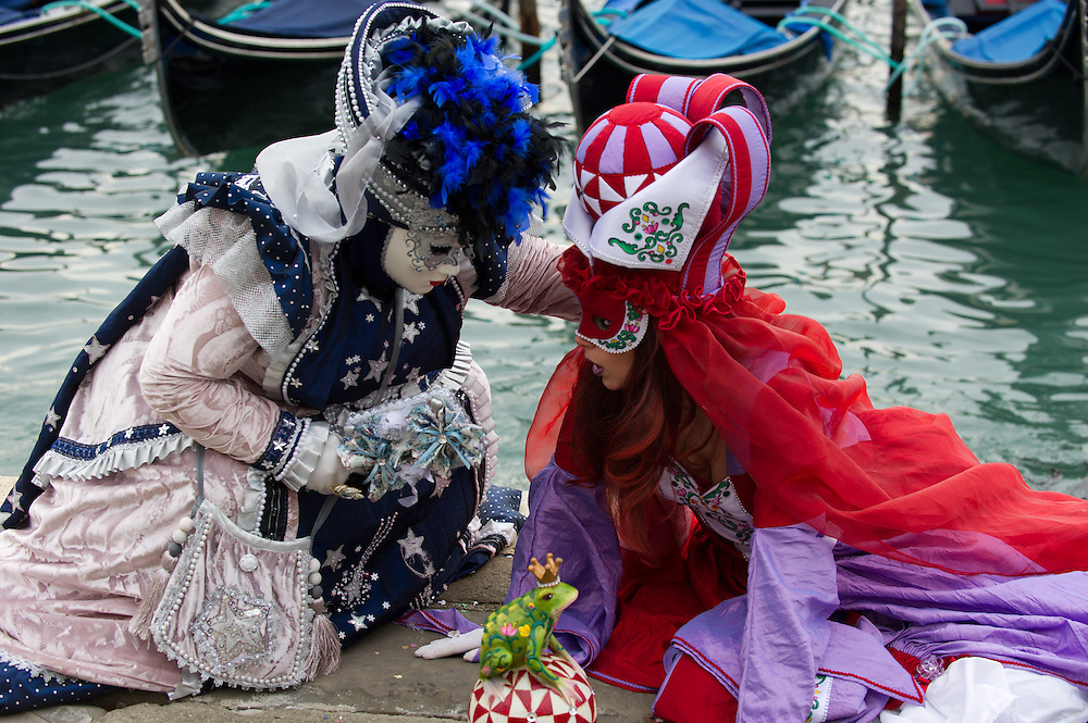 Carnival Masks and Costumes for Venice Carnival 2013