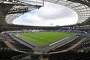 Hull City KCOM ground before the EFL Sky Bet Championship match between Hull City and Birmingham City at the KCOM Stadium, Kingston upon Hull, England on 30 September 2017. Photo by Ian Lyall.