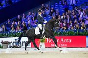 Joyce Lenaerts - George<br /> Jumping Amsterdam 2017<br /> © DigiShots
