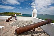 Cao Frio_RJ, Brasil...Turista no forte Sao Mateus em Cabo Frio...A tourist in the Fort Sao Mateus in Cabo Frio...Foto: JOAO MARCOS ROSA / NITRO..
