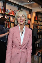PENELOPE, VISCOUNTESS COBHAM at a party to celebrate the publication of Stanley Johnson's new book 'Where The Wild Things Were' held at Daunt Books, 83 Marylebone High Street, <br /> London W1 on 18th July 2012.