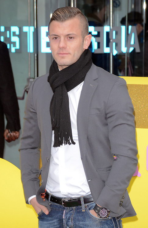 Jack Wilshere attends The Premiere of Peppa Pig: The Golden Boots at The Odeon, Leicester Square, London on Sunday 1 February 2015