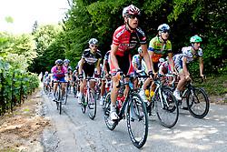 Cyclists during Slovenian National Championship Mirna Pec 2012, on June 24, 2012, in Mirna Pec, Slovenia. (Photo by Urban Urbanc / Sportida.com)
