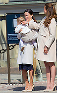 Stockholm, 30-04-2015 <br /> <br /> King Carl Gustav celebrated his birthday with Queen Silvia, The Crown Princess, Prince Daniel, Prince Carl Philip, Ms. Sofia Hellqvist, Princess Madeleine<br /> And their children. COPYRIGHT ROBIN UTRECHT