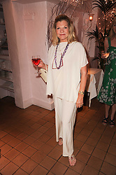 """JO MILLER at a party to celebrate the publication of the Paper back edition of """"A Lion Called Christian"""" held at Julie's Restaurant & Bar, 135 Portland Road, London W11 on 28th June 2010."""