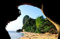 Thailande - <br /> Krabi province<br /> Ao Phranaang beach