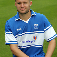 St Johnstone Photocall 2006-07<br />Kevin Rutkiewicz<br /><br />Picture by Graeme Hart.<br />Copyright Perthshire Picture Agency<br />Tel: 01738 623350  Mobile: 07990 594431