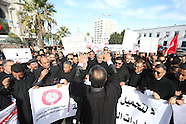 Tunis - Tunisian Lawyers Protest Planned Finance Law - 06 Dec 2016