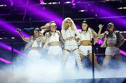Zara Larsson performs during the European MTV Europe Music Awards at the Ahoy Rotterdam, Netherlands, Sunday 6th November, 2016. Photo by Robin Utrecht/ABACAPRESS.COM