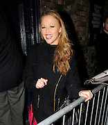 10.OCTOBER.2011. LONDON<br /> <br /> KIMBERLEY WALSH LEAVES DRURY LANE THEATRE IN LONDON WEARING HER WINTER JUMPER AND BOOTS AFTER HER LATEST PERFORMANCE IN HOT SHOW SHREK.<br /> <br /> BYLINE: EDBIMAGEARCHIVE.COM<br /> <br /> *THIS IMAGE IS STRICTLY FOR UK NEWSPAPERS AND MAGAZINES ONLY*<br /> *FOR WORLD WIDE SALES AND WEB USE PLEASE CONTACT EDBIMAGEARCHIVE - 0208 954 5968*
