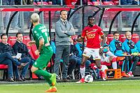 ALKMAAR, 19-05-2017, AZ - FC Groningen,  AFAS Stadion, AZ trainer John van den Brom, AZ speler Derrick Luckassen