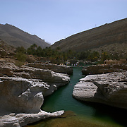 Oman, Wadi Bani Khalib. February/03/2008...Oman's many wadis offer a relaxing retreat from the heat. Wadi Bani Kahlib is a site to behold, not to mention swim in.