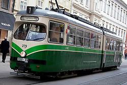 13.03.2012, Graz, AUT, Feature, im Bild eine Strassenbahn der GVB Linie 1 Richtung UKH, EXPA Pictures © 2012, PhotoCredit: EXPA/ Erwin Scheriau