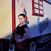Circus Women posing